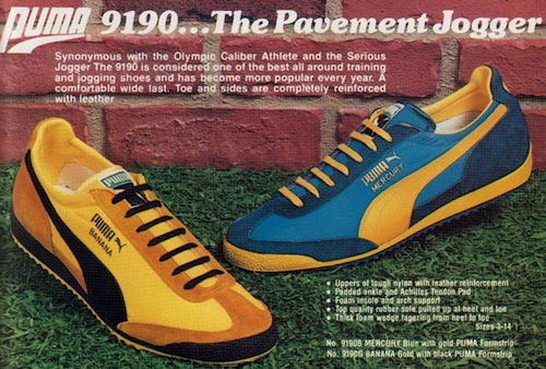Puma Banana Mercury 1977