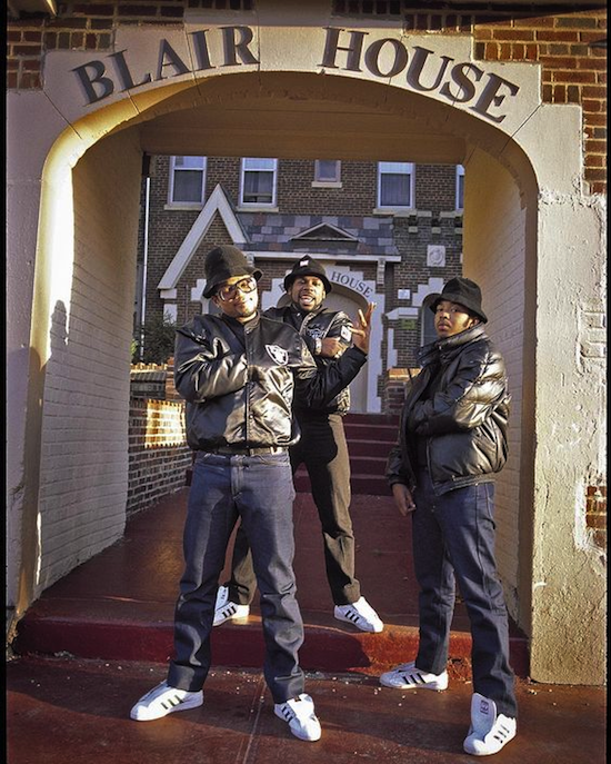 Run-DMC and JAM MASTER JAY fall 1985