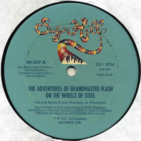 Grandmaster Flash / The adventures of Grandmaster Flash on the wheels of steel (1981)