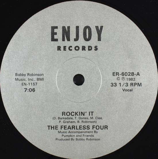 The Fearless Four / Rockin' It (1982)