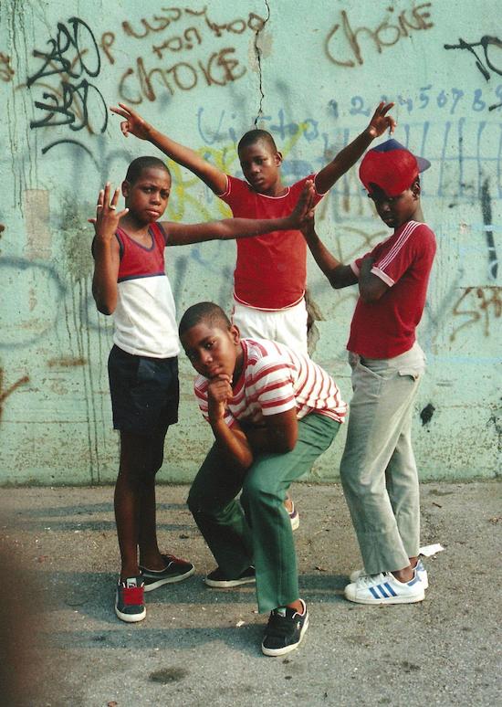 Young Boys, East Flatbush, Brooklyn, NYC (1981)