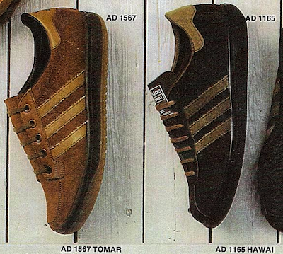 adidas Tomar and Hawai 1979