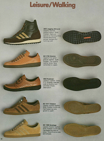 adidas USA catalog Leisure/Walking (1980)