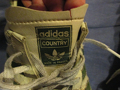 "Adidas Cross Country Running Shoes ""Made in France"""