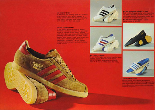 adidas UK catalogue 1972