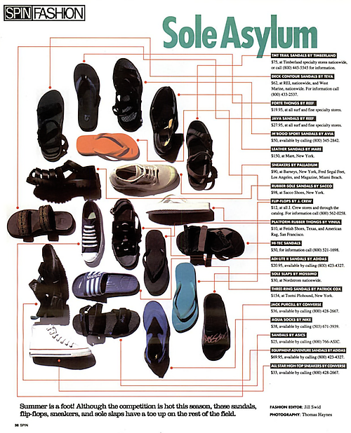 Sole Asylum Spin Fashion (1994)