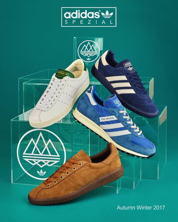 adidas Spezial 2017FW footwear