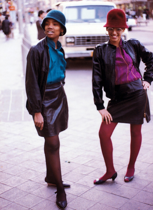 Jamel Shabazz 1980s ladies