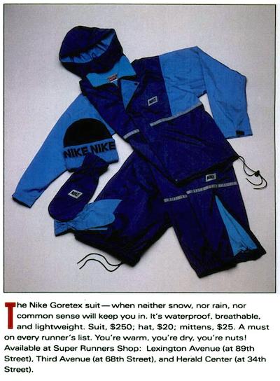 Nike Goretex Suit