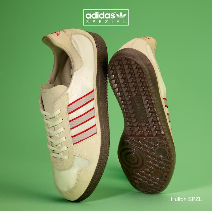 adidas Hulton SPZL (Clear Brown/Clear Granite/Scarlet)