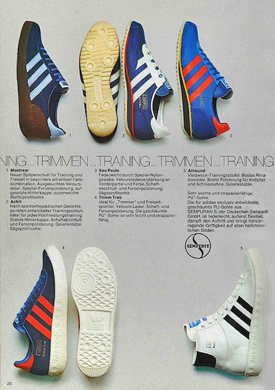 adidas German catalog 1975