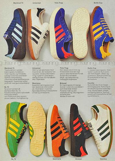 adidas Danish catalog 1976