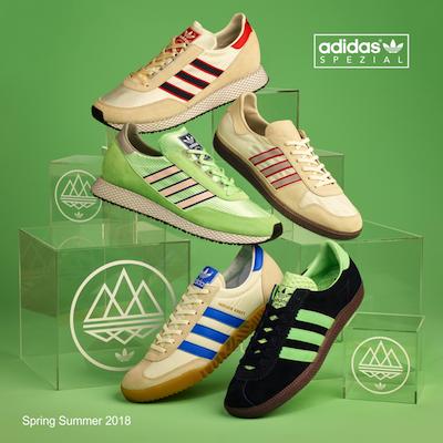 adidas Spezial 2018SS footwear