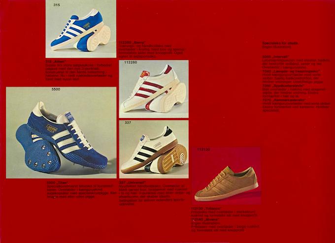 adidas Danish catalog (1972)