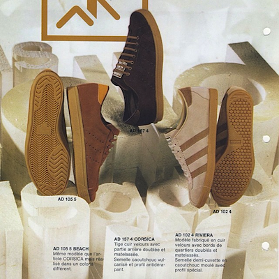 adidas French catalog (1974)