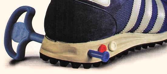 adidas Vario-Shock-absorption system