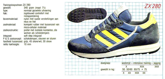adidas Nederland catalog (1986)