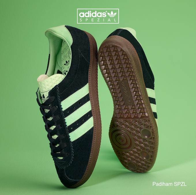 adidas Padiham SPZL (Night Navy / Mist Jade / Night Navy)