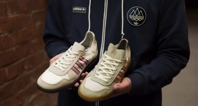 adidas Hulton SPZL and archive shoe