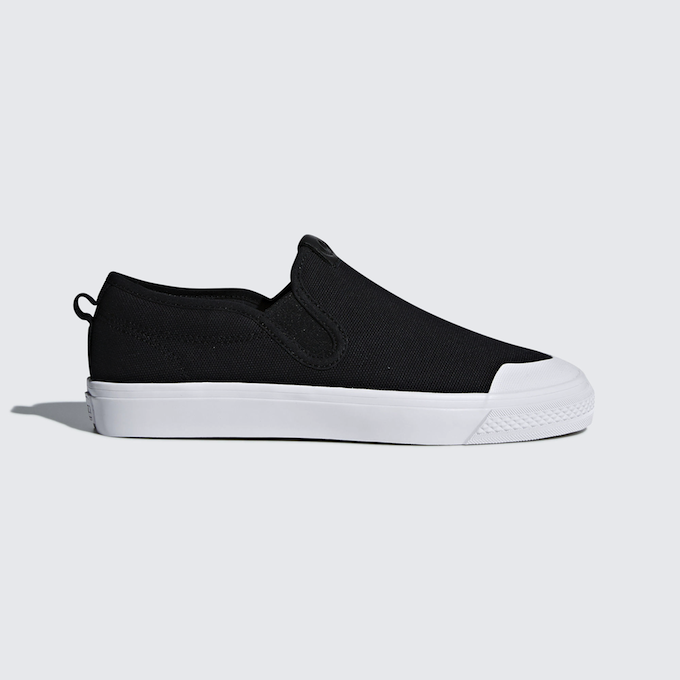 adidas Nizza Slip-on (core black / ftwr white)