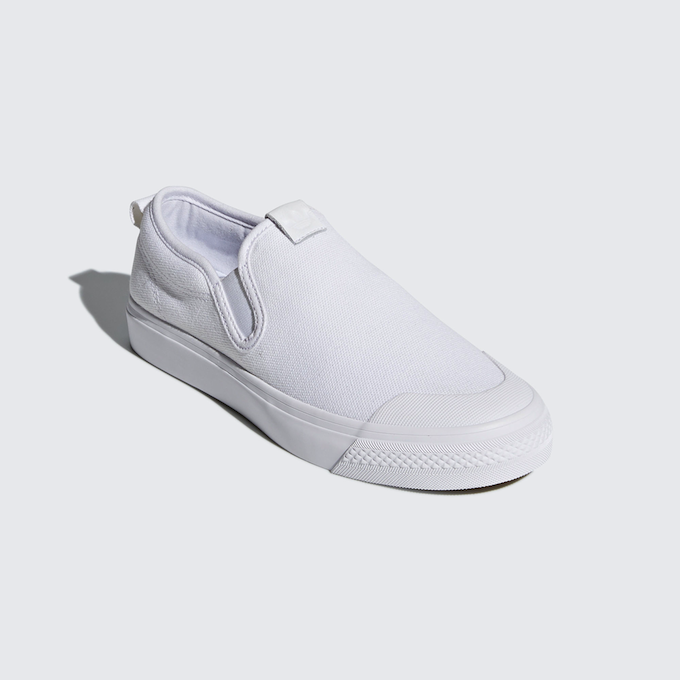 adidas Nizza Slip-on (ftwr white)