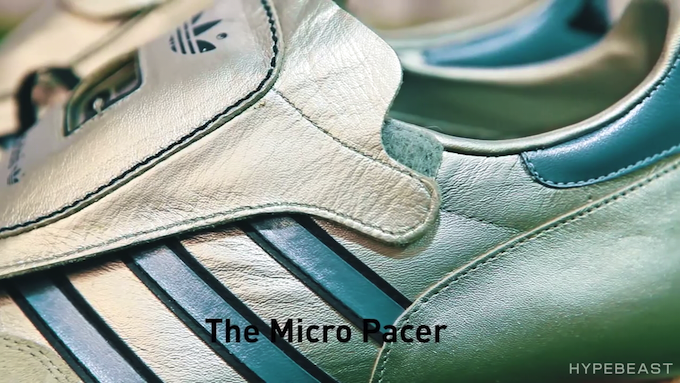 Robert Brooks talks about adidas Micro Pacers