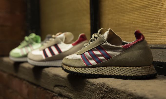 unknown adidas OG running shoe and adidas Glenbuck SPZL