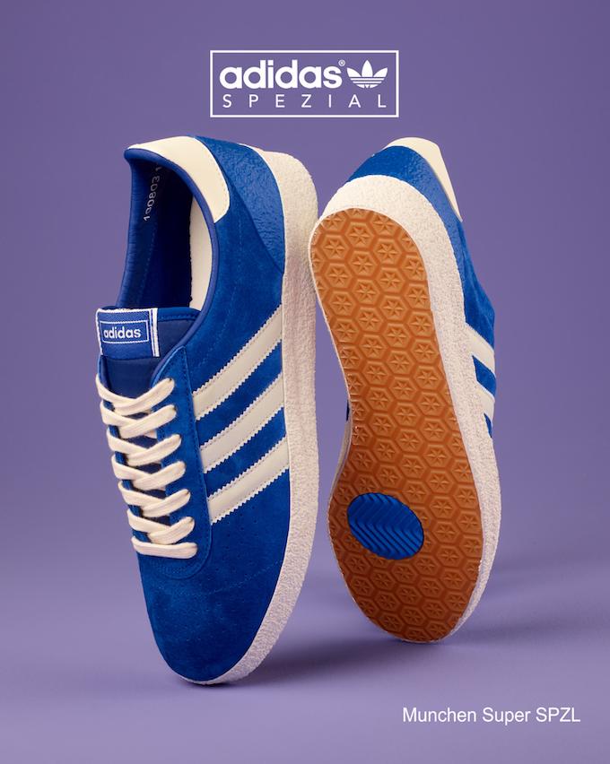 adidas Munchen Super SPZL (Blue)