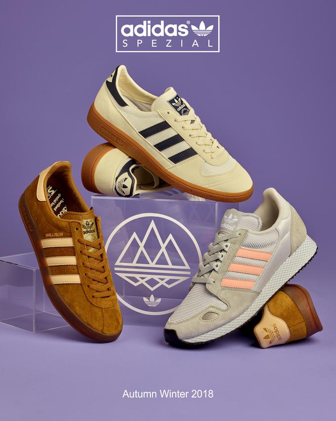 adidas Spezial 2018AW footwear