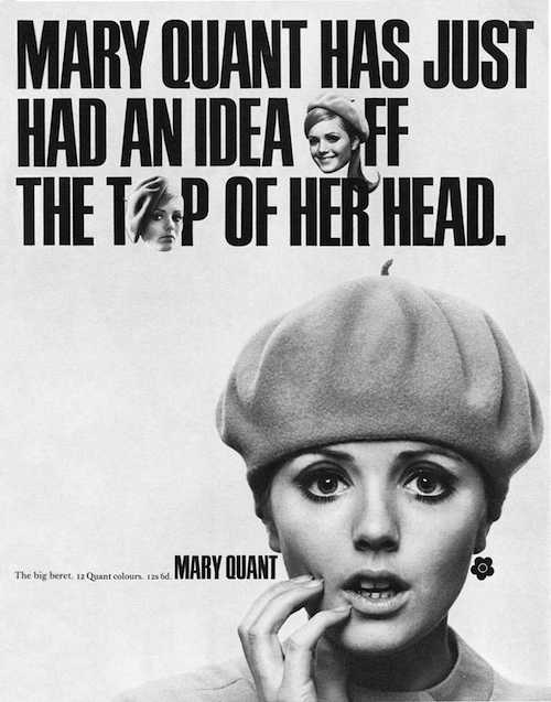 Mary Quant x Kangol Big Beret (1967)