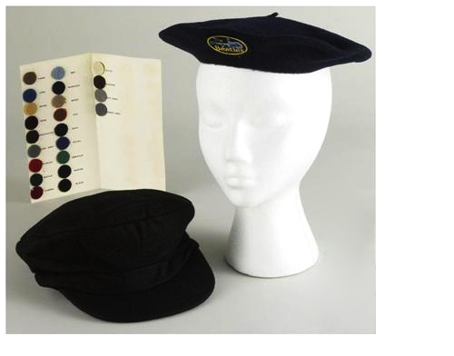 The Beatles Beret, Cap & Swatch Samples