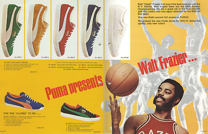 Puma Clyde Catalog (1973)