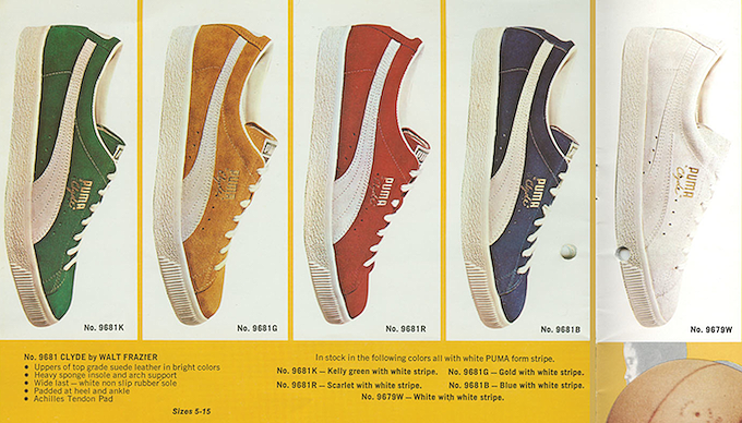 Puma Clyde Catalog (1973)