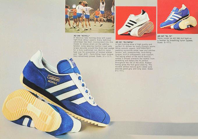 adidas UK catalog (1972)