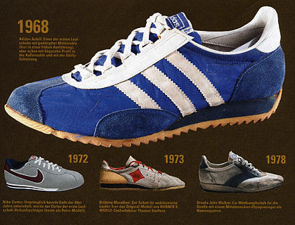 adidas Achill and early running shoes