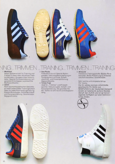 adidas German catalog (1975)