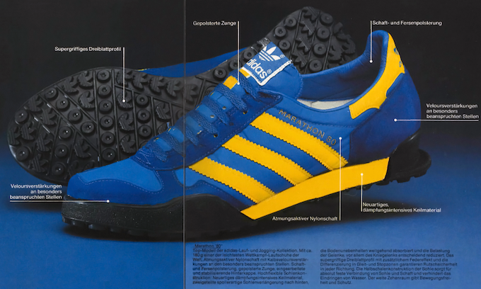 adidas Marathon 80 German catalog (1979)