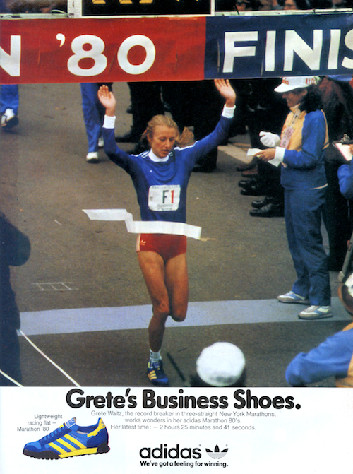 Grete Waitz, 1980 New York City Marathon