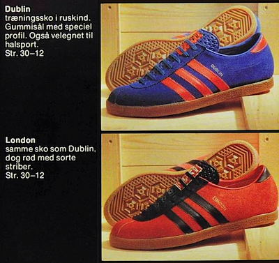 adidas Dublin & London