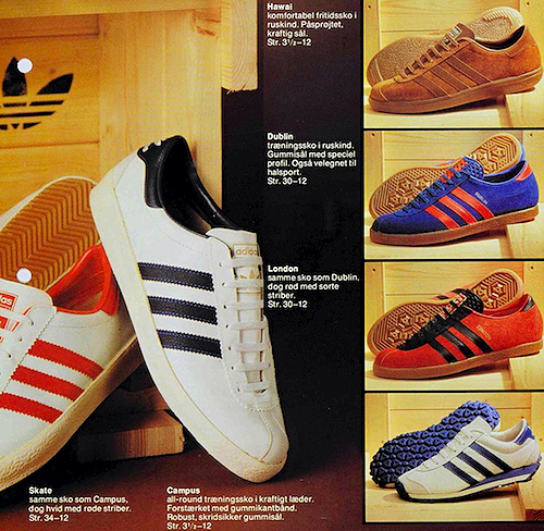 adidas Danish catalog (1979)