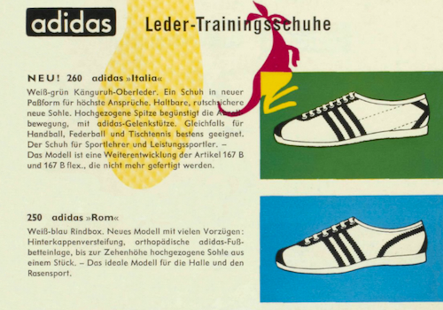adidas German catalog (c.1960)