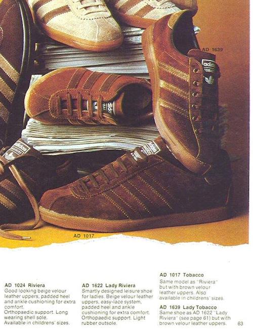 adidas Tobacco & Lady Tobacco (1976)
