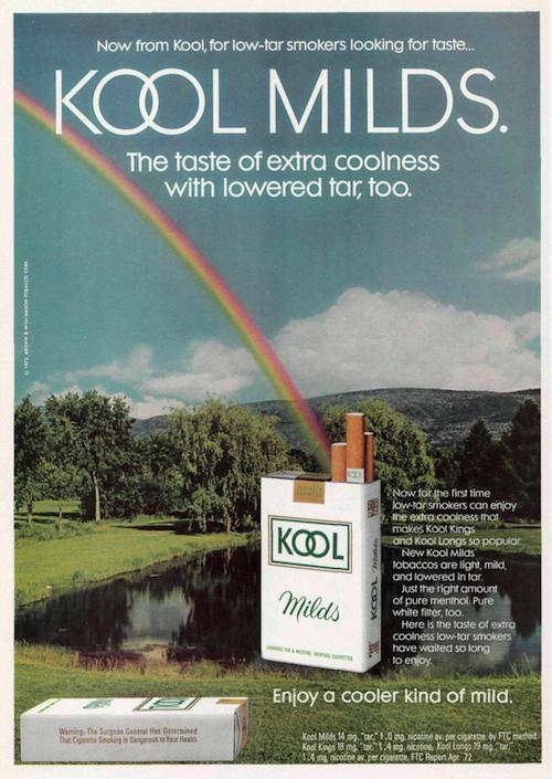 Kool print ad (1972)