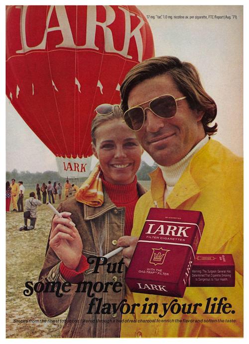 Lark print ad (1972)