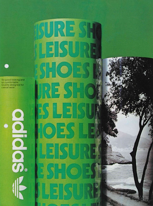 adidas Leisure shoes catalogue (1974)