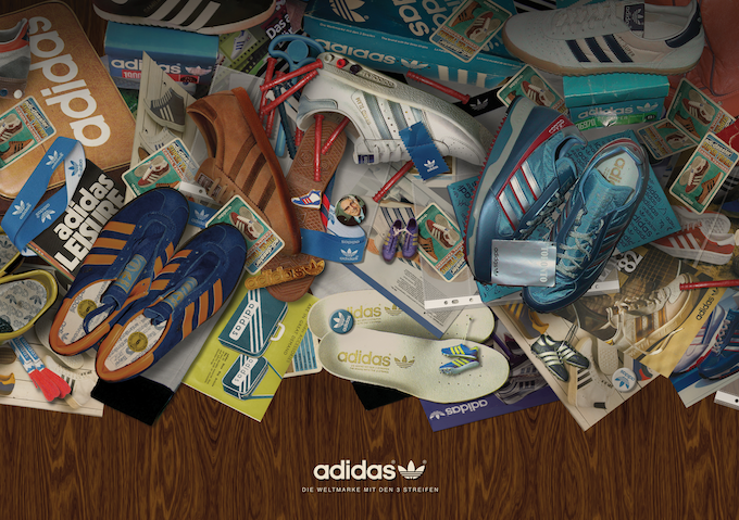 Gary Aspden's adidas Originals Spezial Exhibition (2013)