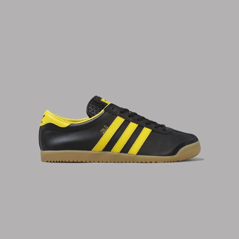 adidas Oslo (Core Black / Active Gold / Gum)