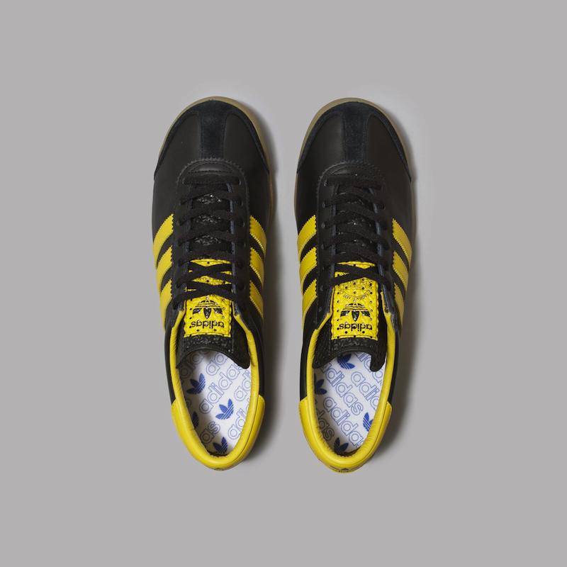 adidas Oslo (Core Black / Active Gold / Gum)