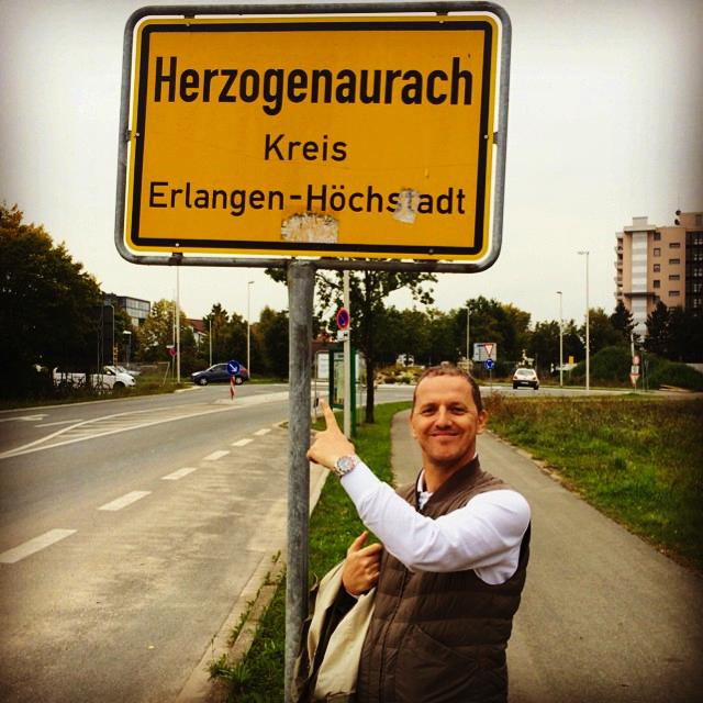 Gary Aspden in Herzogenaurach