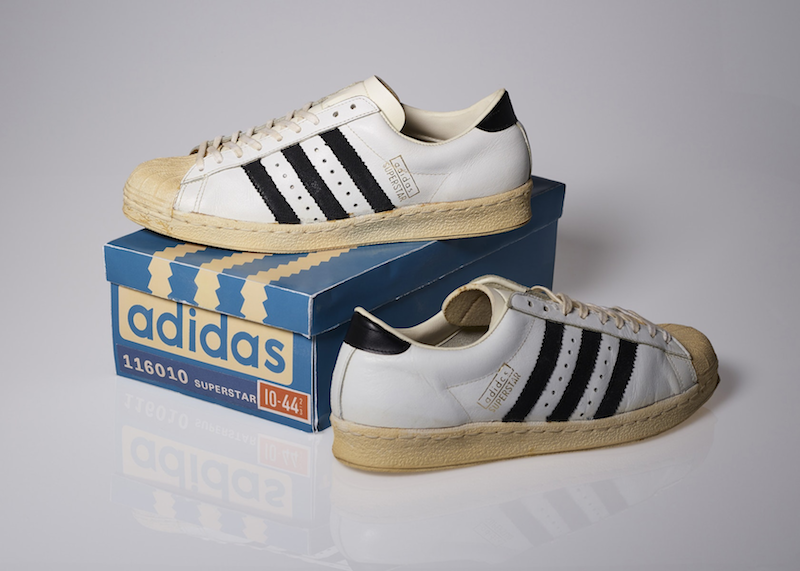 adidas Superstar White/Black (1970-72)